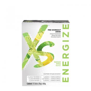 XS Pre-Workout Drink Zitrone-Limette AMWAY™